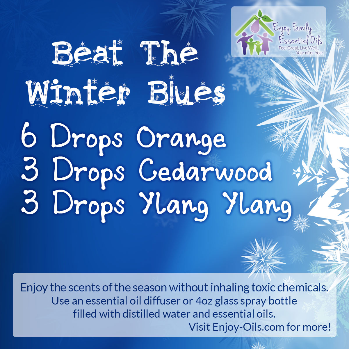 Young Living Essential Oil Diffuser ~ Therapeutic scents of the season to enhance your home