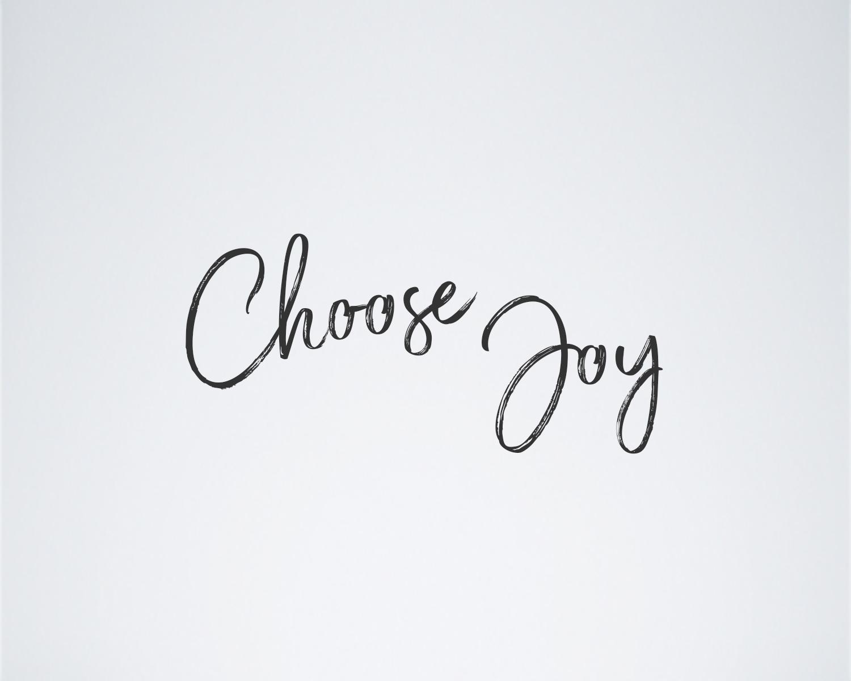 choose joy blog