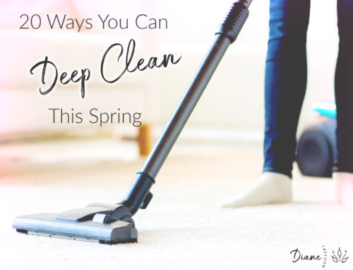 20 Ways You Can Deep Clean This Spring